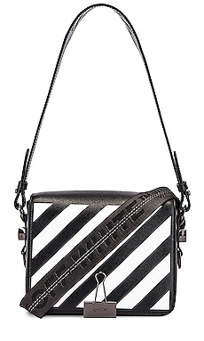 Diagonal Flap Bag OFF-WHITE $854 Collections