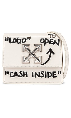 Jitney 0.7 Cash Inside Bag OFF-WHITE $790