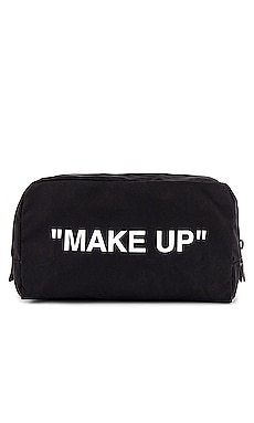 Make Up Pouch OFF-WHITE $145 NEW ARRIVAL