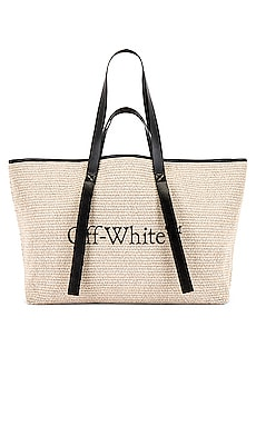 BOLSO TOTE COMMERCIAL OFF-WHITE $910