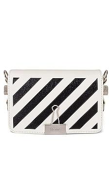 Diagonal Mini Flap Bag OFF-WHITE $816 Collections