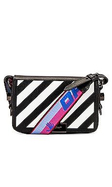 Diagonal Mini Flap Bag OFF-WHITE $1,015 Collections