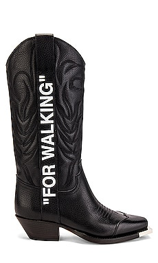 """For Walking"" Cowboy Boot OFF-WHITE $904 Collections"