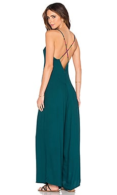 OH, BOY! Macacao Alcas Jumpsuit in Netuno Green