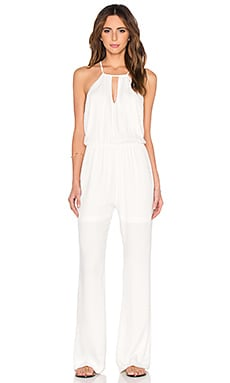 OH, BOY! Macacao Jumpsuit in Off White