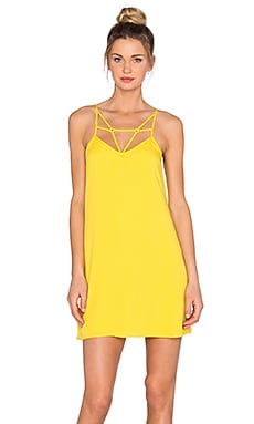 OH, BOY! Vestido Vies Tank Dress in Yellow Pineapple