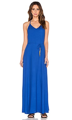 OH, BOY! Vestido Maxi Dress in Ocean Blue