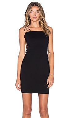 OH MY LOVE Nothing Compares Dress in Black