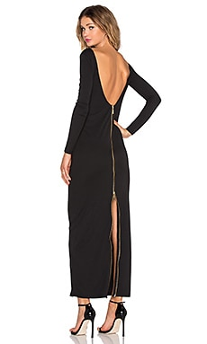 ST by OLCAY GULSEN Dempt Maxi Dress in Black