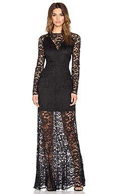 ST by OLCAY GULSEN Dazzling Dress in Black