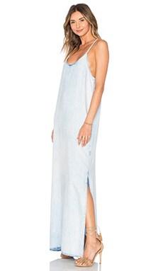 ST by OLCAY GULSEN Tencel Dress in Light Bleached