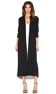 ST by OLCAY GULSEN Duster Coat in Black