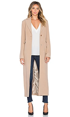 ST by OLCAY GULSEN Oxford Coat in Biscuit
