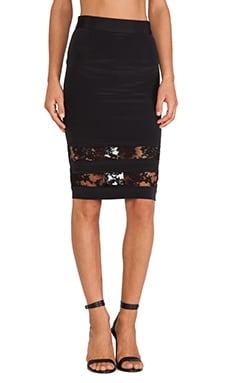 OLCAY GULSEN Skirt Combi in Black