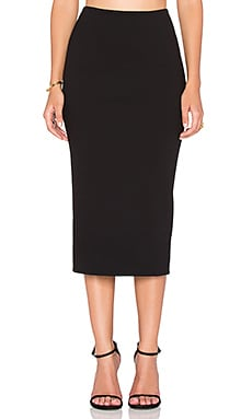 OLCAY GULSEN Pencil Skirt in Black