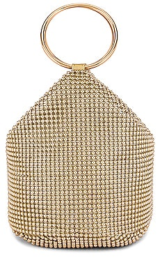Bianca Ball Mesh Handle Bag olga berg $70