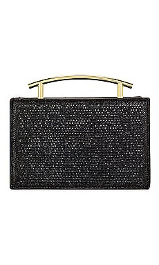 Sofia Hotfix Metal Handle Evening Bag olga berg $72