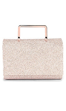 Ariana Glitter Top Handle Bag olga berg $49