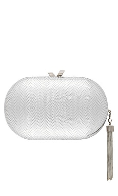 Medusa Metallic Clutch olga berg $58