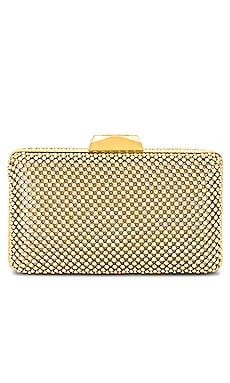 Natasha Ball Mesh Clutch olga berg $70