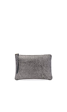 Oliveve Queenie Clutch in Pewter