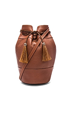 Georgina Bucket Bag in Cognac