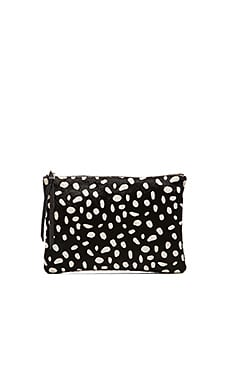 Oliveve Queenie Clutch in Ocelot