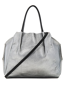 Zoe Tote Bag in Nickel