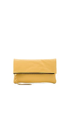Anastasia Clutch in Chamois
