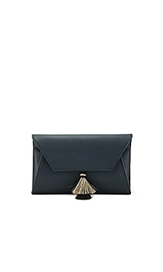 Cleo Clutch in Navy