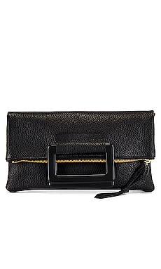 Jolie Clutch With Lucite Handles Oliveve $209