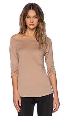 OLYMPIA Activewear Thebes Tee in Nude