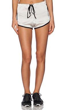 OLYMPIA Activewear Lyra Short in Bone & Jet
