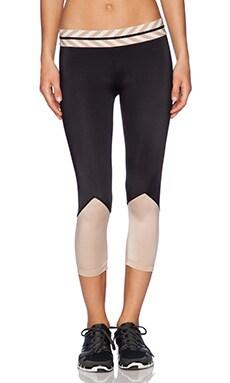 OLYMPIA Activewear Naxos Crop Legging in Jet