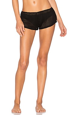 Tres Short in Black