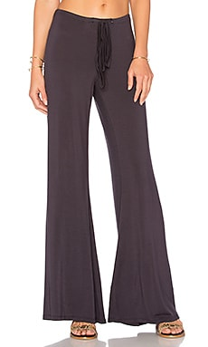 Golden Wide Leg Pant