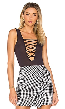 Layla Lace Up Bodysuit