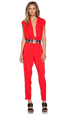 OndadeMar Jumpsuit in Red