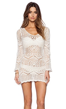 OndadeMar Light Glam Dress in White
