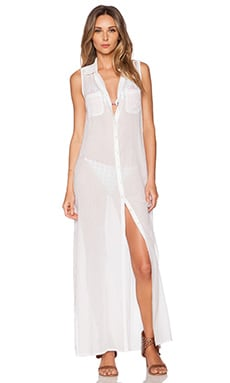OndadeMar Maxi Dress in White Boheme