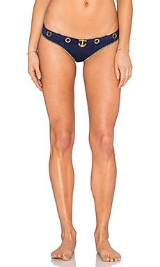 OndadeMar Bikini Bottom in Dancing Blue