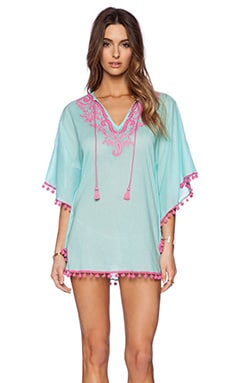 OndadeMar Bengal Caftan in Mint