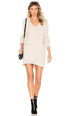 X REVOLVE Danny Dress One Grey Day $248 BEST SELLER