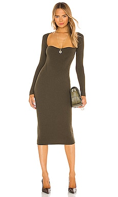 X REVOLVE Olivia Midi Dress One Grey Day $188