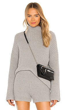 X REVOLVE Clyde Pullover One Grey Day $158