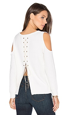 Sylvie Cold Shoulder Sweater