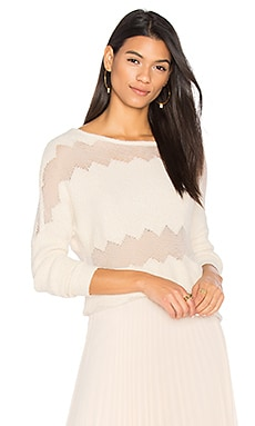 Rona Fringe Sweater in Sand