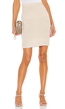 X REVOLVE Claudia Skirt One Grey Day $66