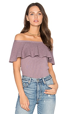 Alista Off Shoulder Top in Berry