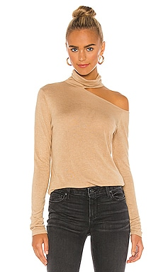 X REVOLVE Penny Long Sleeve Top One Grey Day $128 MÁS VENDIDO